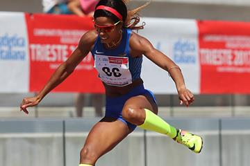Yadisleidy Pedroso at the Italian championships (Giancarlo Colombo/FIDAL)