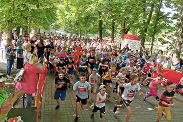 IAAF Kids Mile participants in Brest, Belarus (Organisers)
