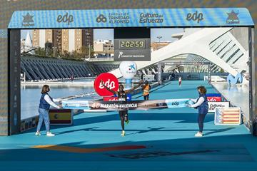 Big win for Evans Chebet at the Valencia Marathon (Organisers)