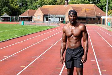 Sprints coach Patrick Hutchinson (PH)