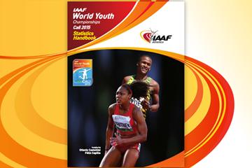 IAAF World Youth Championships Cali 2015 statistics handbook (IAAF)