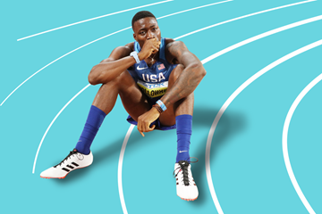 US sprint hurdler Grant Holloway (Getty Images)