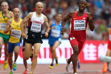 Participants in the masters 800m at the IAAF World Championships Beijing 2015 (Getty Images)