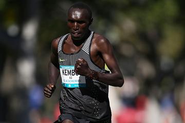 Elijah Kemboi on his way to winning the Sydney Marathon (Getty Images)
