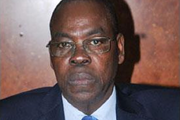 Théophile Montcho, CAA vice president and former president and general secretary of the Benin Athletics Federation (CAA)
