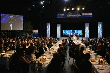 General View of the World Athletics Gala (Getty Images)