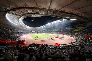 General view of the Khalifa International Stadium during the IAAF World Athletics Championships Doha 2019 (Getty Images)