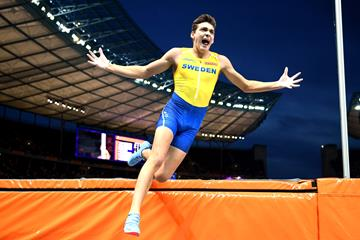 Armand Duplantis Wins The Pole Vault At The European Championships Getty Images