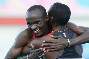Kenyan 800m runner Ferguson Cheruiyot (Getty Images)