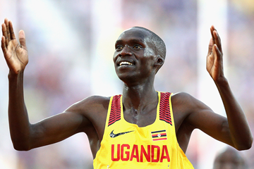 Uganda's Joshua Cheptegei wins the 5000m at the Commonwealth Games (Getty Images)