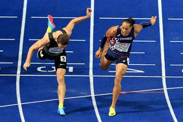 Pascal Martinot-Lagarde wins the European 110m hurdles title (Getty Images)