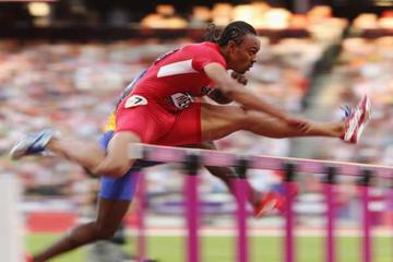 American 110 metre hurdler Aries Merritt  (Getty images)