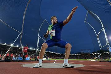 Another dominant Diamond League performance by Daniel Stahl, this time in Stockholm (Hasse Sjogren)