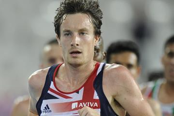 British distance runner Chris Thompson (AFP / Getty Images)