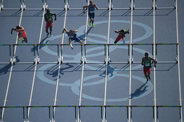 Decathletes in action at the Olympic Games (AFP / Getty Images)
