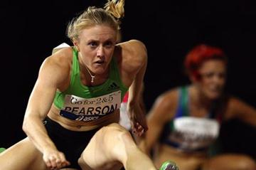 Sally Pearson in her first 100m Hurdles race of 2012 - Perth, Australia 11 Feb (Getty Images)