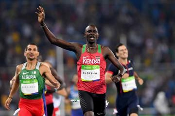 David Rudisha wins the 800m at the Rio 2016 Olympic Games  (Getty Images)