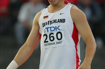 David Storl of Germany wins the Shot Put final (Getty Images)