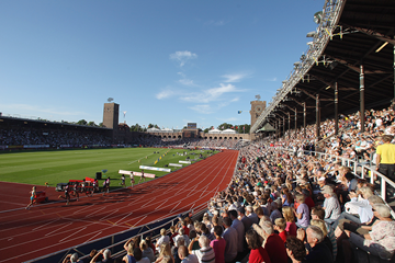 The 1912 Olympic Stadium, venue for the IAAF Diamond League meeting in Stockholm (Getty Images)