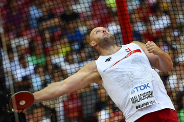 Piotr Malachowski in the discus at the IAAF World Championships Beijing 2015 (AFP / Getty Images)