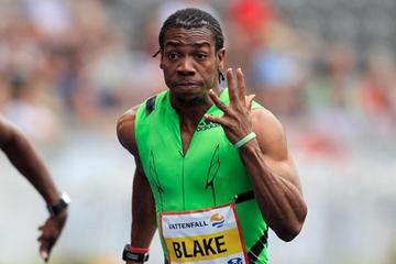 Another 9.82 for Yohan Blake, this time in Berlin (Gladys Chai van der Laage)