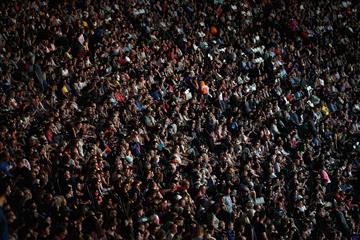 Fans at the IAAF World Championships (Getty Images)