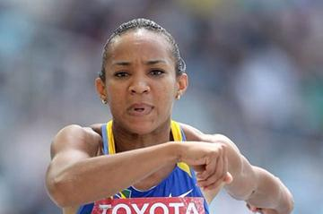 Keila Costa in action in the qualification round of the women's Triple Jump (Getty Images)