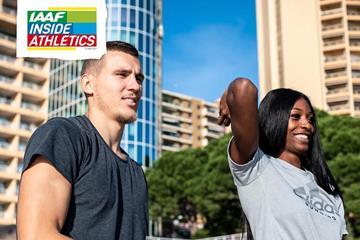 Maicel Uibo and Shaunae Miller-Uibo on IAAF Inside Athletics (Dan Vernon)