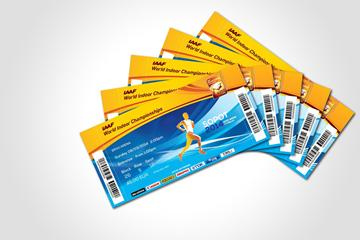 Tickets for the 2014 IAAF World Indoor Championships (Organisers)