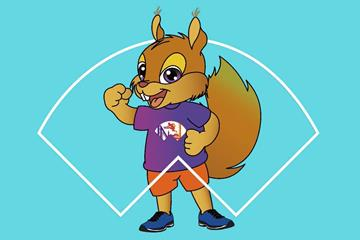 Cedar, the mascot for the World Athletics Indoor Championships Nanjing 2020 (LOC)
