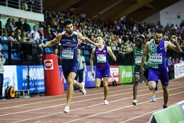 Madrid 400m winner Samuel Garcia (Dan Vernon)