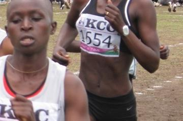 Pamela Jelimo makes a triumphant return in Nakuru (David Macharia)