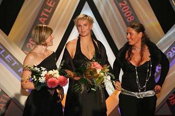 Barbora Spotáková - centre - 2008 Czech Athlete of the Year (Tomáš Železný)
