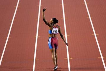 200m Final - Marion Jones (© Allsport)