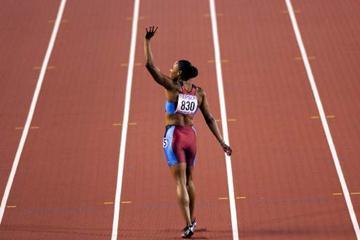 200m Final - Marion Jones (© Allsport)