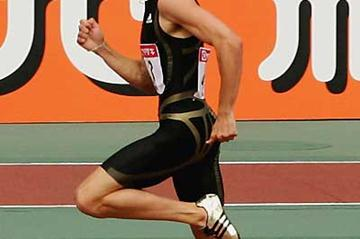 Jeremy Wariner in Osaka (Getty Images)
