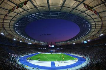 A general view of the Berlin Olympic stadium during Day Two of the 12th IAAF World Championships in Athletics (Getty Images)