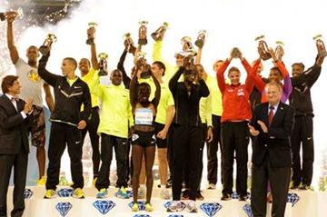The Diamond Race winners in Brussels (Jiro Mochizuki)