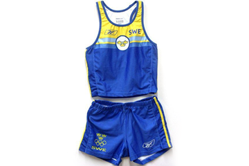 Carolina Kluft's kit from the 2004 Olympic Games (IAAF)