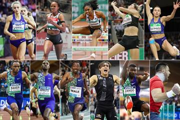 2020 World Athletics Indoor Tour winners ()