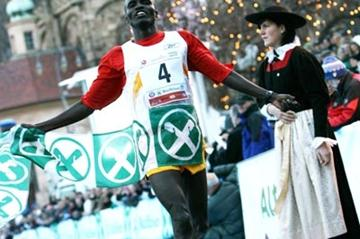 Edwin Soi winning the Boclassic race in 2007 (IAAF.org)
