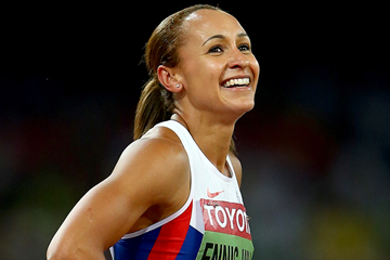 Heptathlon winner Jessica Ennis-Hill at the IAAF World Championships Beijing 2015 (Getty Images)