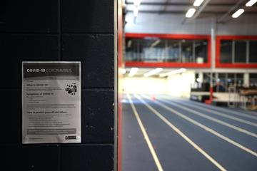 An empty athletics training facility (Getty Images)