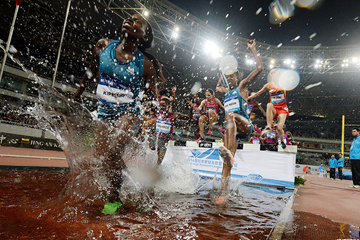 The steeplechase at the IAAF Diamond League meeting in Shanghai (AFP / Getty Images)