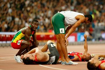 The end of the decathlon at the IAAF World Championships, Beijing 2015 (Getty Images)