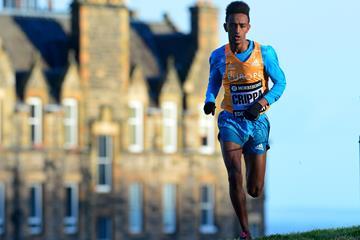 Italian middle distance runner Yemaneberhan Crippa (Getty Images)