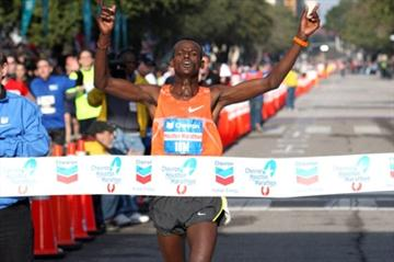 Massive 2:07:37 PB for Teshome Gelana in Houston (Victah Sailer)