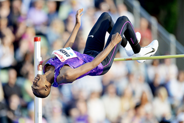 Mutaz Essa Barshim at the IAAF Diamond League meeting in Oslo (AFP / Getty Images)