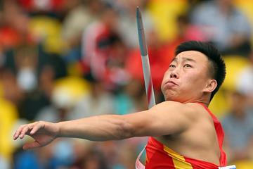Chinese javelin thrower Zhao Qinggang (Getty Images)