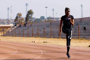 Zambian sprinter Suwilanji Theresa Fotwe Mpondela  ()